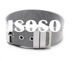 Stainless steel mesh bracelet for men