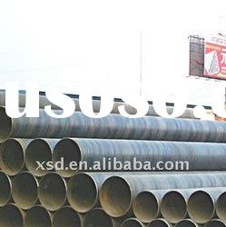 Straight/spiral welded steel pipe SAW/ERW A106/A53/API5L B steel(20# 10# Q235) China