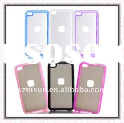 TPU + PC Case for Apple iPod Touch 4 with Antislip Grip