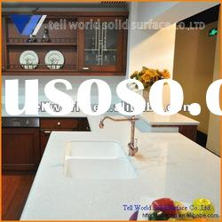 TW professional prefabricate artificial stone composite acrylic kitchen table top