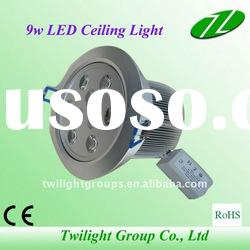 Top quality and best price!! High Power 9w led down light fixtures