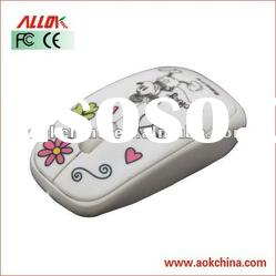 Water Printing 3D 1000dpi Optical PC Wired Mouse