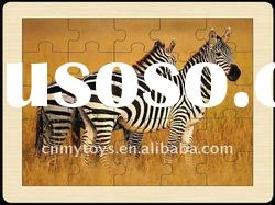 Woodiness frame full version animal jigsaw puzzle U3401768