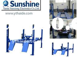 **SXJS4019 SUNSHINE 4 post car lift with CE and ISO certificate