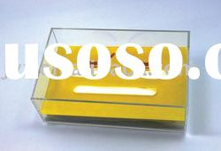 acrylic tissue box with high qulity
