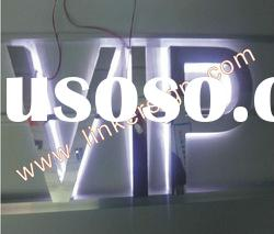 advertising backlit LED channel letter sign with good quality