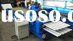 automatic double sheet glazed tile roll forming machine