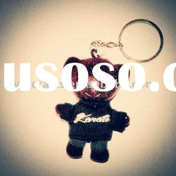 bear toy keyring
