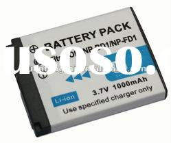 digital camera battery For sony NP-FD1 NP-BD1