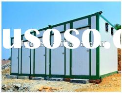 easy assemble light steel structure prefabricated house cold room