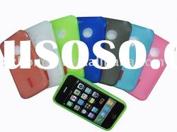 exquisite silicone mobile phone cases for iphone 4G