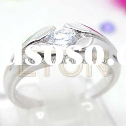 fahion high polished good quality 925 sterling silver ring jewelry (R5652)