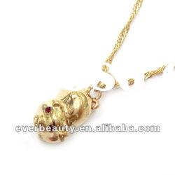 fashion gold alloy diamond necklace jewelry designs