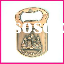 fashion moscow city metal bottle opener souvenirs gift bar beer bottle opener