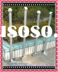 galvanized mild steel or low carbon steel tube handrail