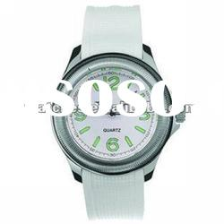 geneva ladies silicone rubber band watch SL1095