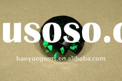 green round synthetic gemstone cubic zirconia,semi-precious stone