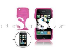 high-end silicone mobilephone cases for iphone 4g