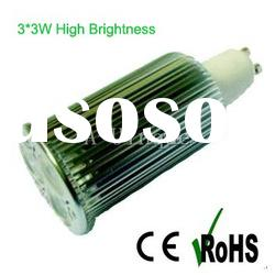 high power Dimmable led 9W small spotlights