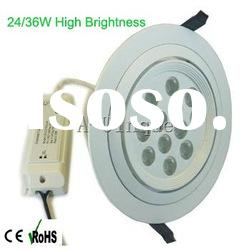 high power led downlight 12*1W
