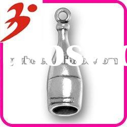 high quality alloy plating antisilver wine bottle pendant jewelry bracelet accessory(185300)