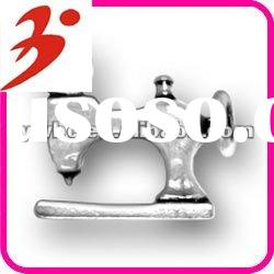 hot sale alloy plating antisilver sewing machine for our dress charm jewelry accessory (185317)