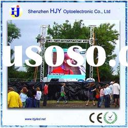 hotest PH10mm outdoor hanging rental led display