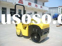 hydraulic mini roller,ride-on double drum road roller,Japan engine and bearing 9HP,CE certification