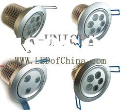 indoor dimmable high power 9W 3W LED Downlight