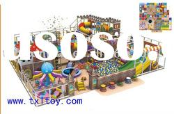 indoor playground with ball pool