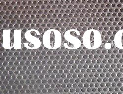 low carbon steel perforated metal sheet