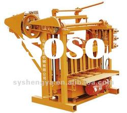 manual concrete block making machine QMJ4-45
