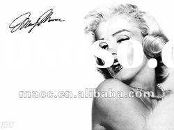 marilyn monroe oil painting on canvas