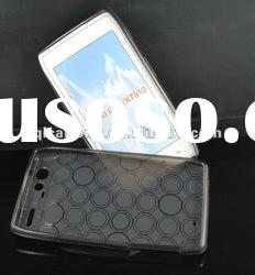 mobilephone case with circle pattern for MOTOROLA XT910/RAZR