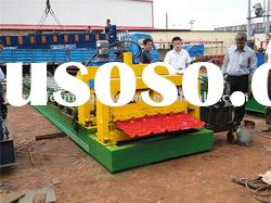 new type of glazed tile roll forming machine