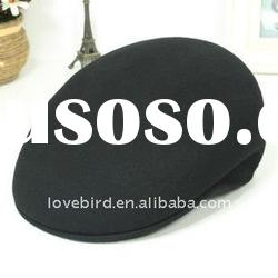 new winter hat design 100% pure lady fashion beret with OEM Service