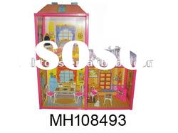 plastic miniature doll house furniture sets for the kids gift