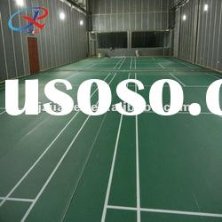 pvc indoor sports flooring for badminton court surface