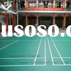 pvc plastic floor covering mat for sports hall