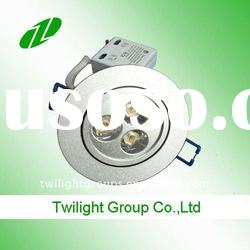 recessed light of 3w(3x1w) LED ceiling Light fitting for kitchen home lighting(ce&RoHS )