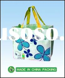 recycle promotion foldable non woven shopping bags