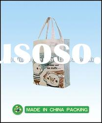 recycle promotion non woven shopping bags