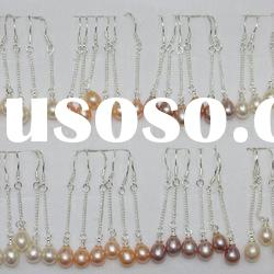 simple rice pearl earrings the best seller in the market for wholesale