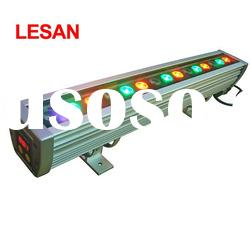 specialist 18w 24w 36w IP65 dmx512 rgb high power outdoor led wall washer landscape lamp