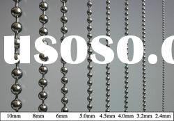 stainless steel metal ball chain,ball chain