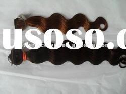 top quality body wave indian hair extension in stock