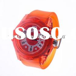 waterproof silicone bracelet watch SL1057
