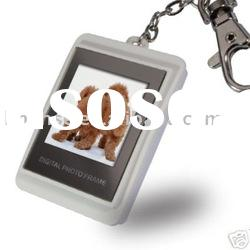 1.5'' Digital USB Photo Picture Frame Key Chain Ring Si