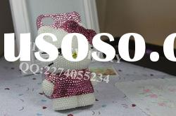 2011 Lovely 3d bling Cell phone case for htc evo 4g