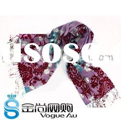 2011 New Arrival 100%Cotton Scarf /long printed Shawl Pashmina